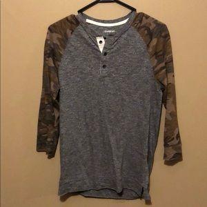 Express 3/4 Sleeve Shirt